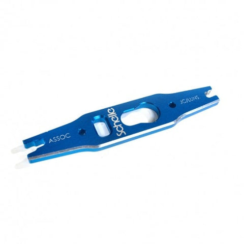 SCHELLE  SCH1010-BLU 2mm Shock & Turnbuckle Tool Blue