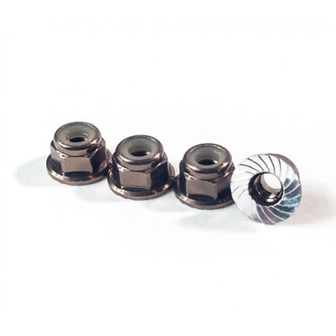 SCHELLE SCH1068 M4 Serrated Wheel Nut Gunmetal