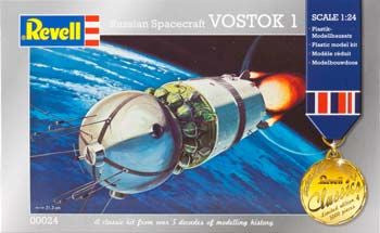 REVELL 00024 1/24 Russian Spacecraft Vostok *DISC*
