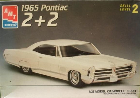AMT 6629 1/25 1965 Pontiac 2+2 Model Kit