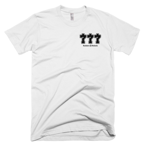 "The ""GAMBLING KING""  777 T-shirt"