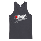 "GEISHA / HANNYA MASKED SOLDIER ""ZERO RULES OF ENGAGEMENT"" tank top"