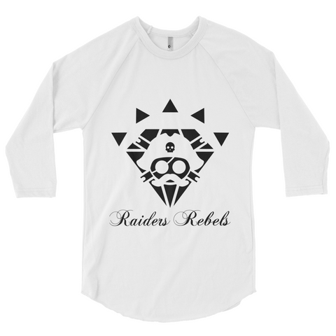 """BLACK DIAMOND RAIDERS & REBELS"" BASEBALL TEE"