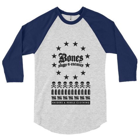 BONES, SLUGS & ENEMIES baseball tee