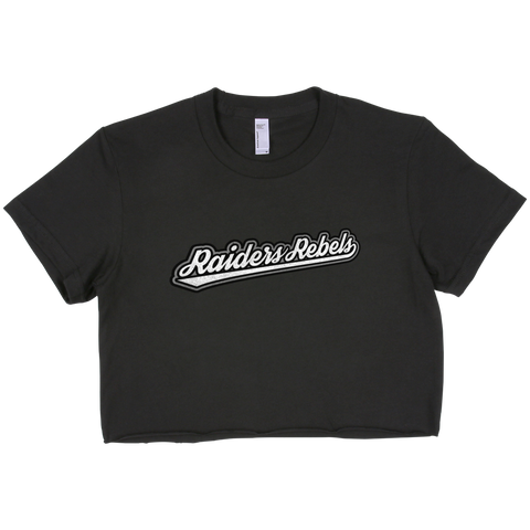 AUTHENTIK RR cropped t-shirt (ladies cut)