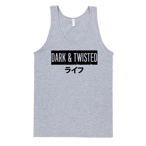 """DARK & TWISTED"" tank top"