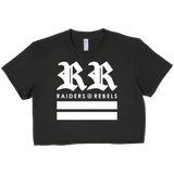 """DOUBLE R's ROYALTY"" cropped top"