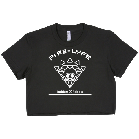 """PIR8-LYFE cropped top"""