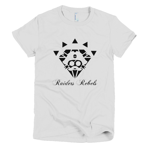 RAIDERS DIAMOND TEE (ladies cut)
