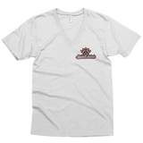 """RAIDERS & REBELS DIAMOND"" Fine Jersey Short Sleeve V-Neck (UNISEX)"
