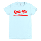 """ RDRS & RBLS "" tee (Ladies cut)"