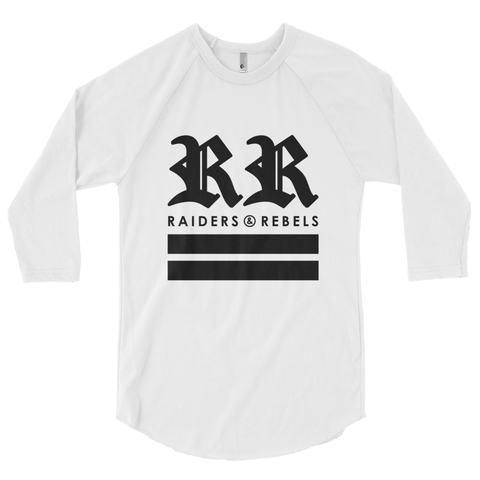 """ UNITED STATES OF RAIDERS & REBELS "" raglan baseball tee (VERSION 1.0)"