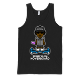 "COMPTON REBEL ""cruisin' on my HOVERBOARD"" tank top (UNISEX)"
