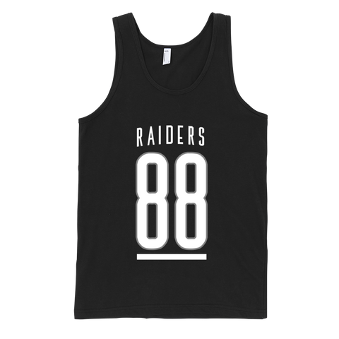"""88 Raiders"" Tank Top (UNISEX)"