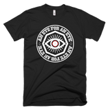 """EYE FOR AN EYE"" red dot  t-shirt (version 2.0)"