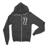 77 Rebel | 88 Raiders Flex Fleece Zip Hoodie