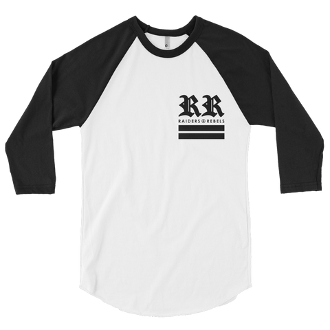 """DOUBLE R LUXURY"" RAGLAN BASEBALL TEE (VERSION 2.0)"