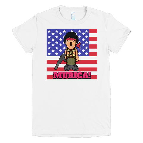 MURICA t-shirt (ladies cut)