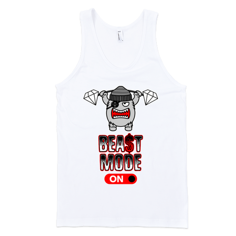 BEAST MODE ON tank top (UNISEX)