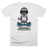 "COMPTON REBEL ""Cruisin' on my HOVERBOARD"" t-shirt (Version 1.0)"
