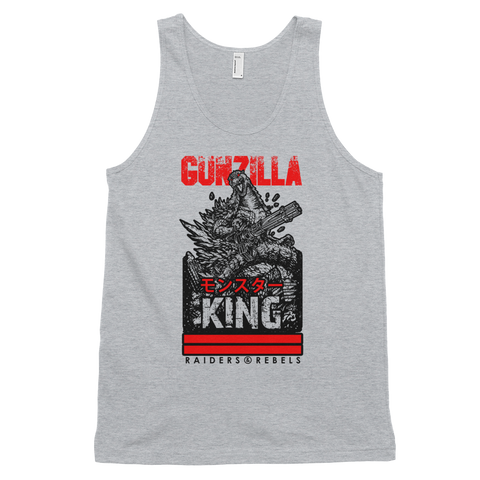 """GUNZILLA MONSTER モンスター KING"" tank top"