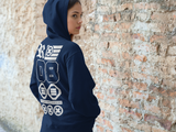 """ UNITED STATES OF RAIDERS & REBELS ""  Flex Fleece Zip Hoodie"