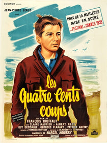 French The Four Hundred Blows Original Vintage Movie Poster