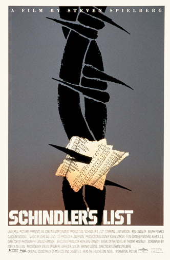 Saul Bass Schindlers List Coming Soon