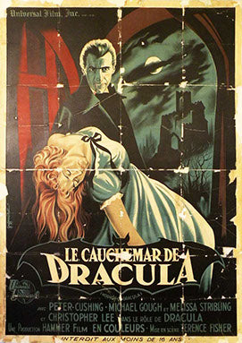 Dracula Pre-Linen Backing Vintage Movie Poster
