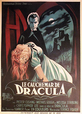 Dracula Linen Backed Vintage Movie Poster