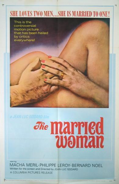 A Married Woman (Une Femme Mariee) 1 Sheet (27x41) Original Vintage Movie Poster