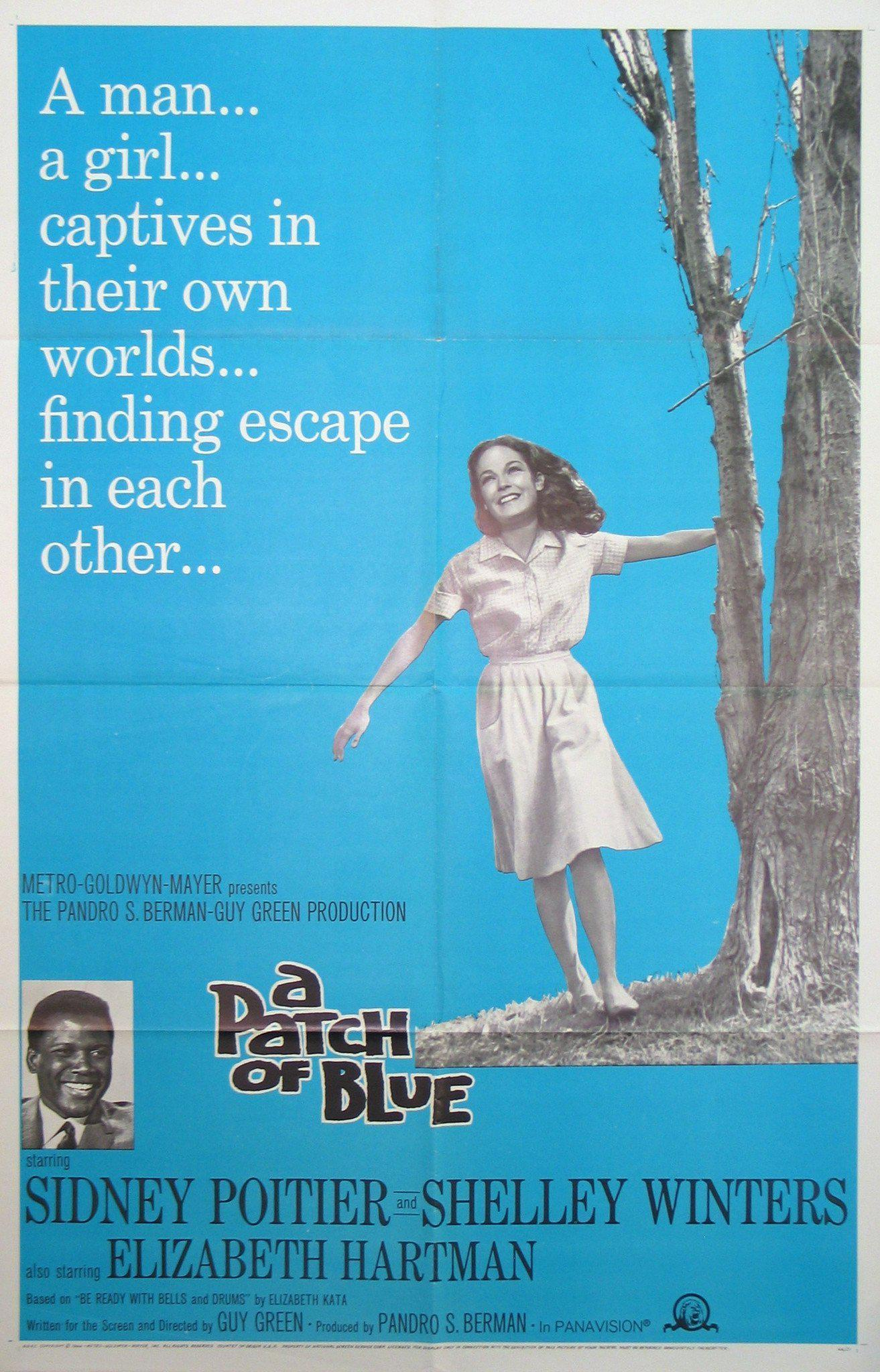 A Patch of Blue 1 Sheet (27x41) Original Vintage Movie Poster