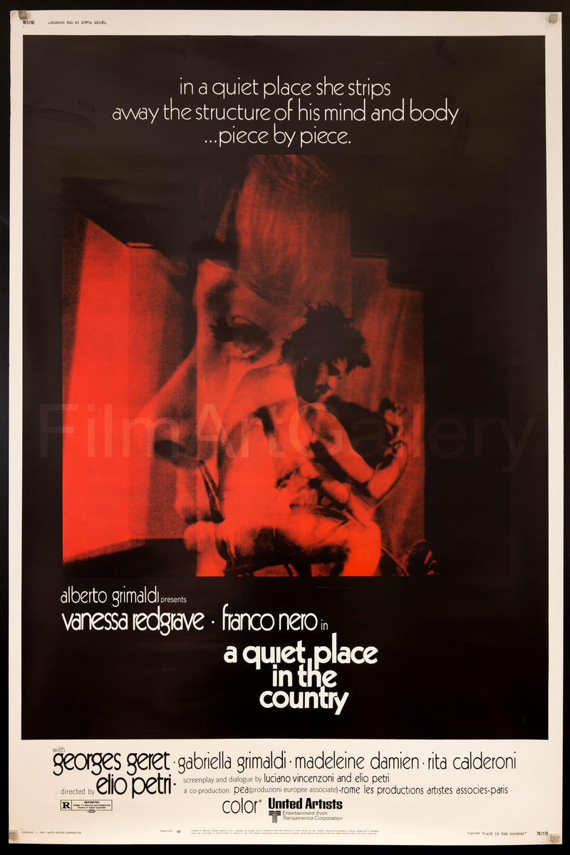 A Quiet Place in the Country 40x60 Original Vintage Movie Poster