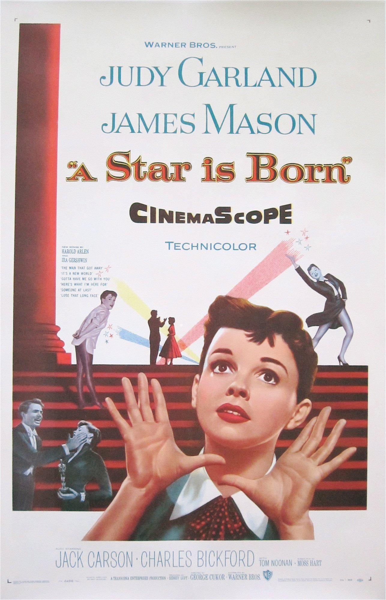 A Star is Born 1 Sheet (27x41) Original Vintage Movie Poster