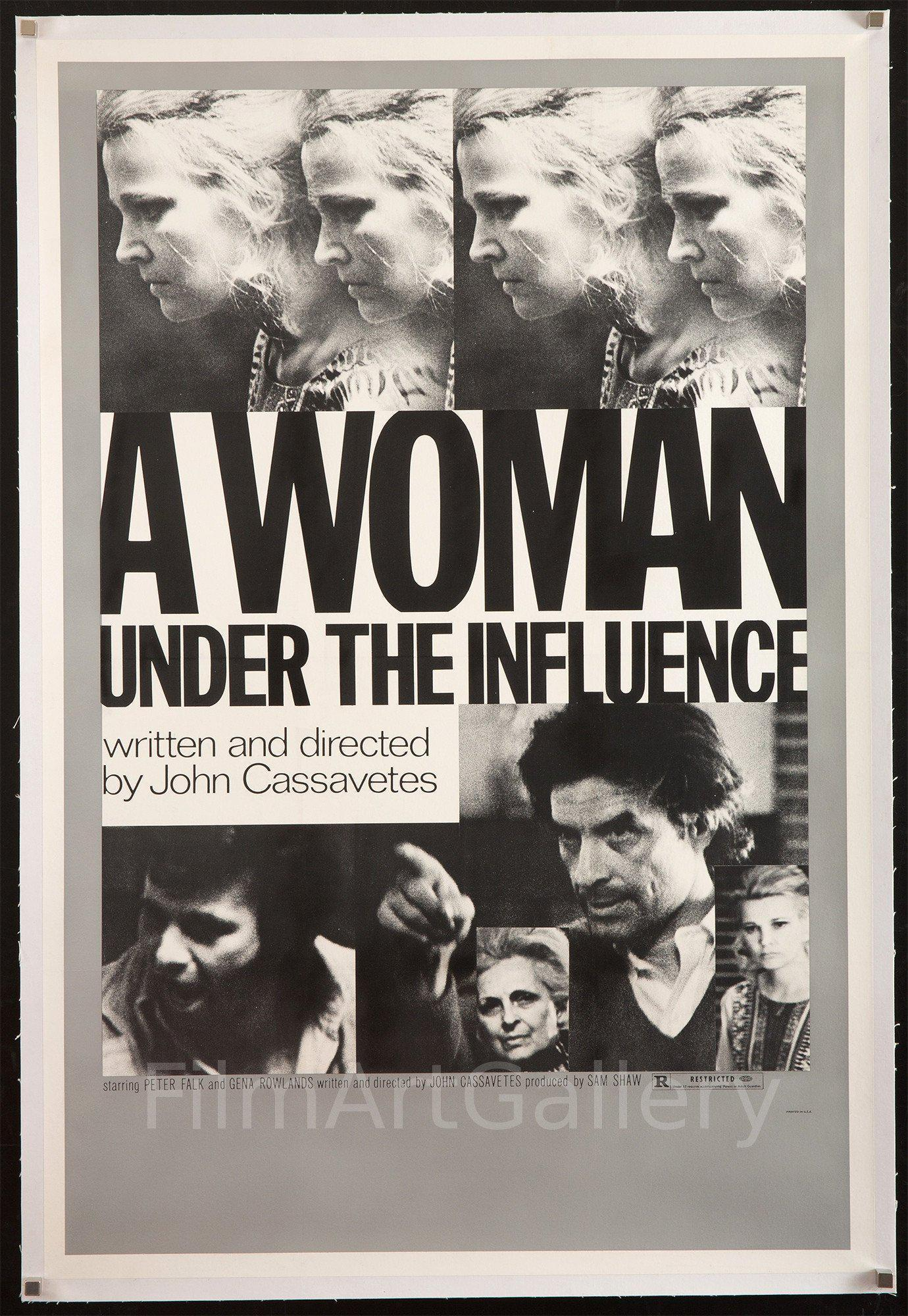 A Woman Under the Influence 1 Sheet (27x41) Original Vintage Movie Poster
