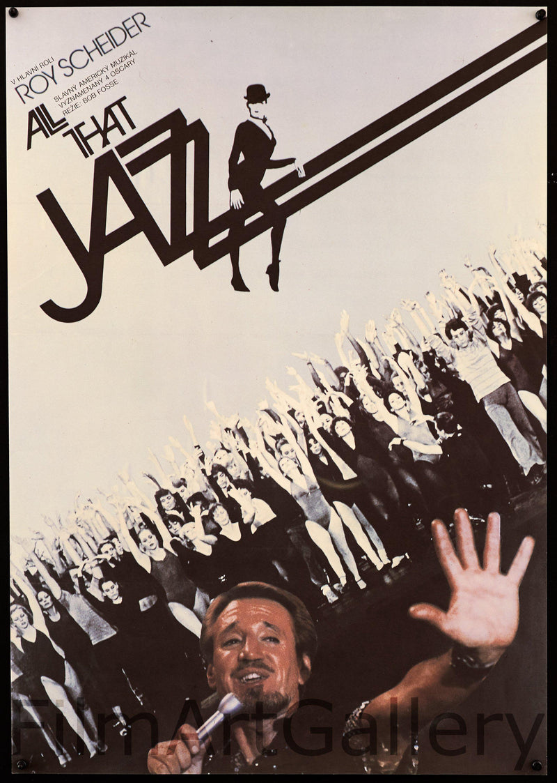 All That Jazz Czech A1 (23x33) Original Vintage Movie Poster
