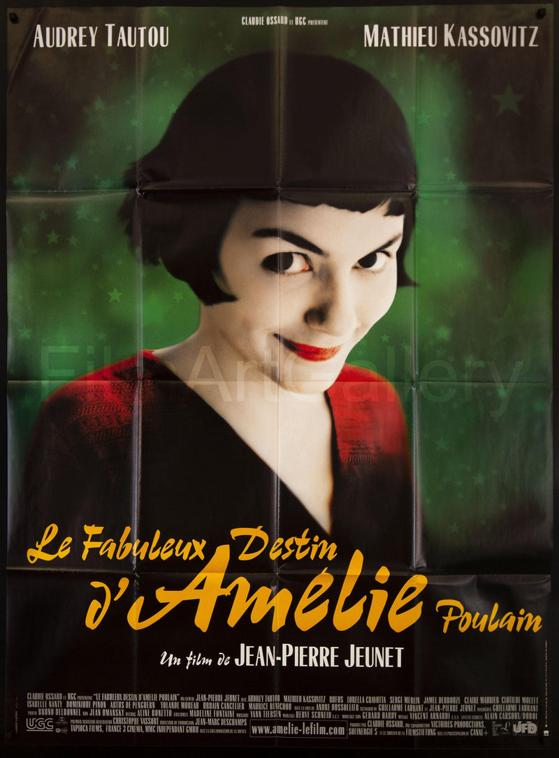 Amelie French 1 Panel (47x63) Original Vintage Movie Poster