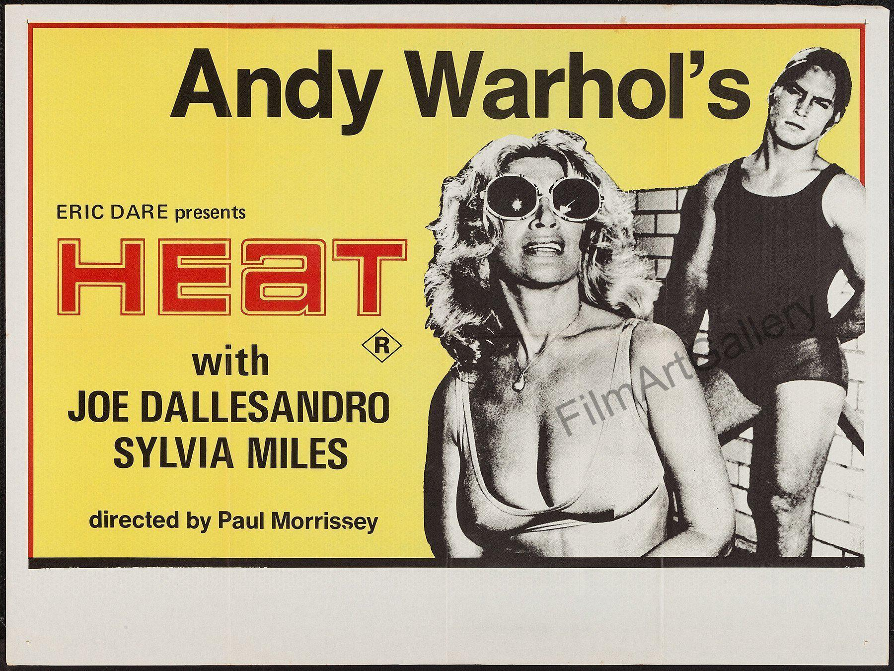 Andy Warhol's Heat 30x40 Original Vintage Movie Poster