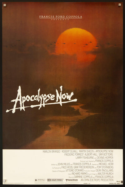 Apocalypse Now Vintage Movie Poster 1 Sheet 27x41 Original Film Poster 7113