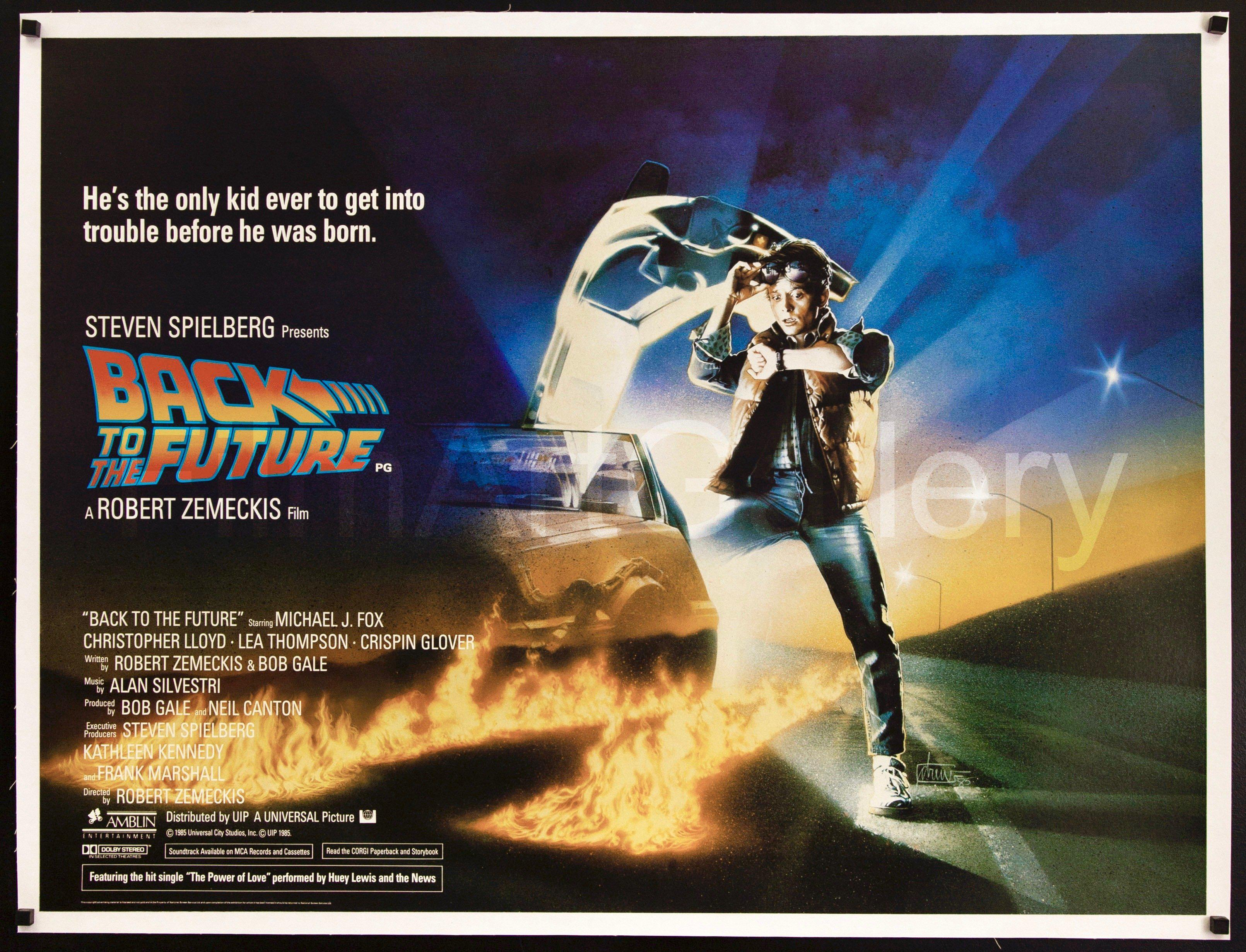 Poster Poster Back to the future back to the Future Movie Steven Spielberg