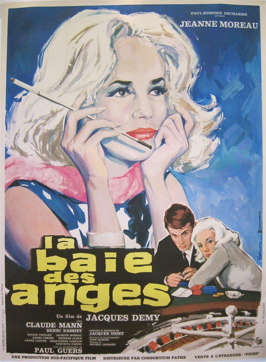 Bay of Angels (La Baie Des Anges) French 1 panel (47x63) Original Vintage Movie Poster