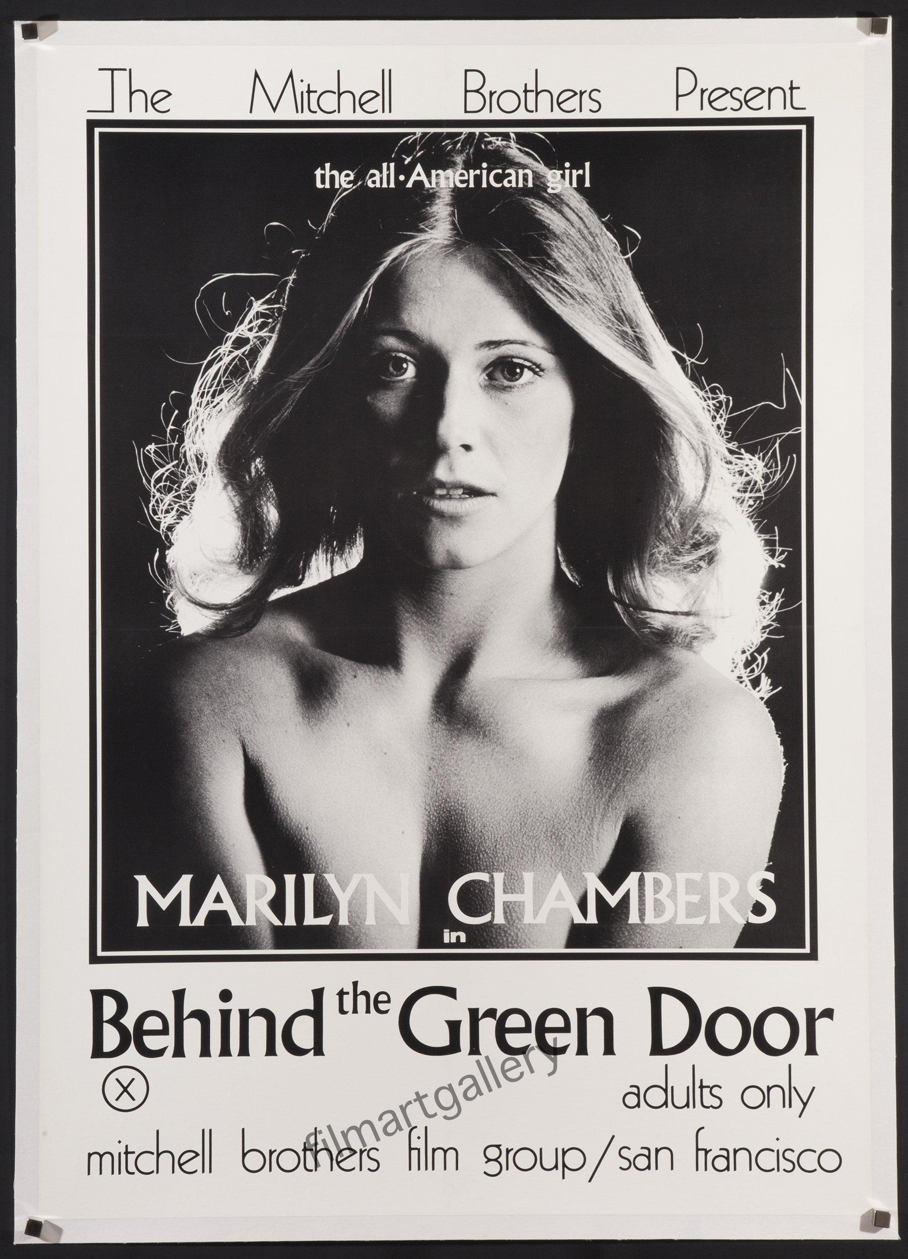 Behind The Green Door X41 Original Vintage Movie Poster