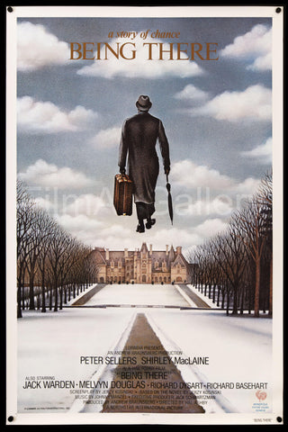 Being There 1 Sheet (27x41) Original Vintage Movie Poster