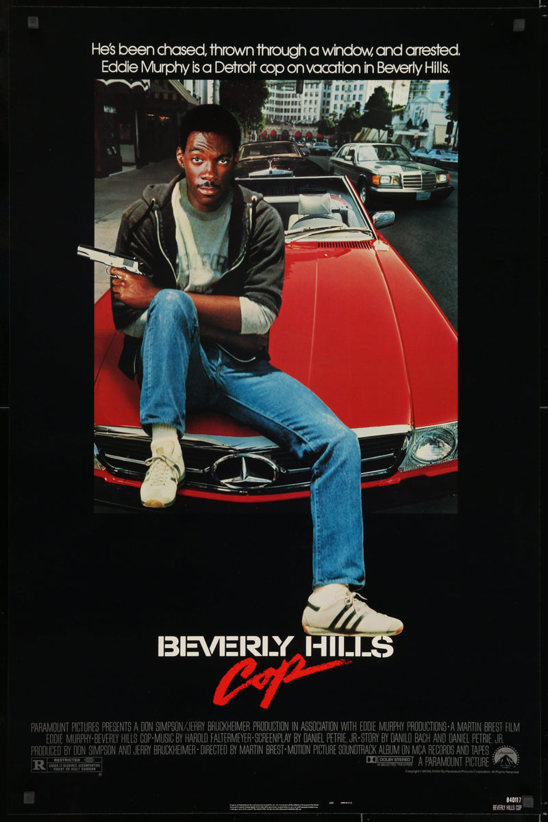Beverly Hills Cop 1 Sheet (27x41) Original Vintage Movie Poster
