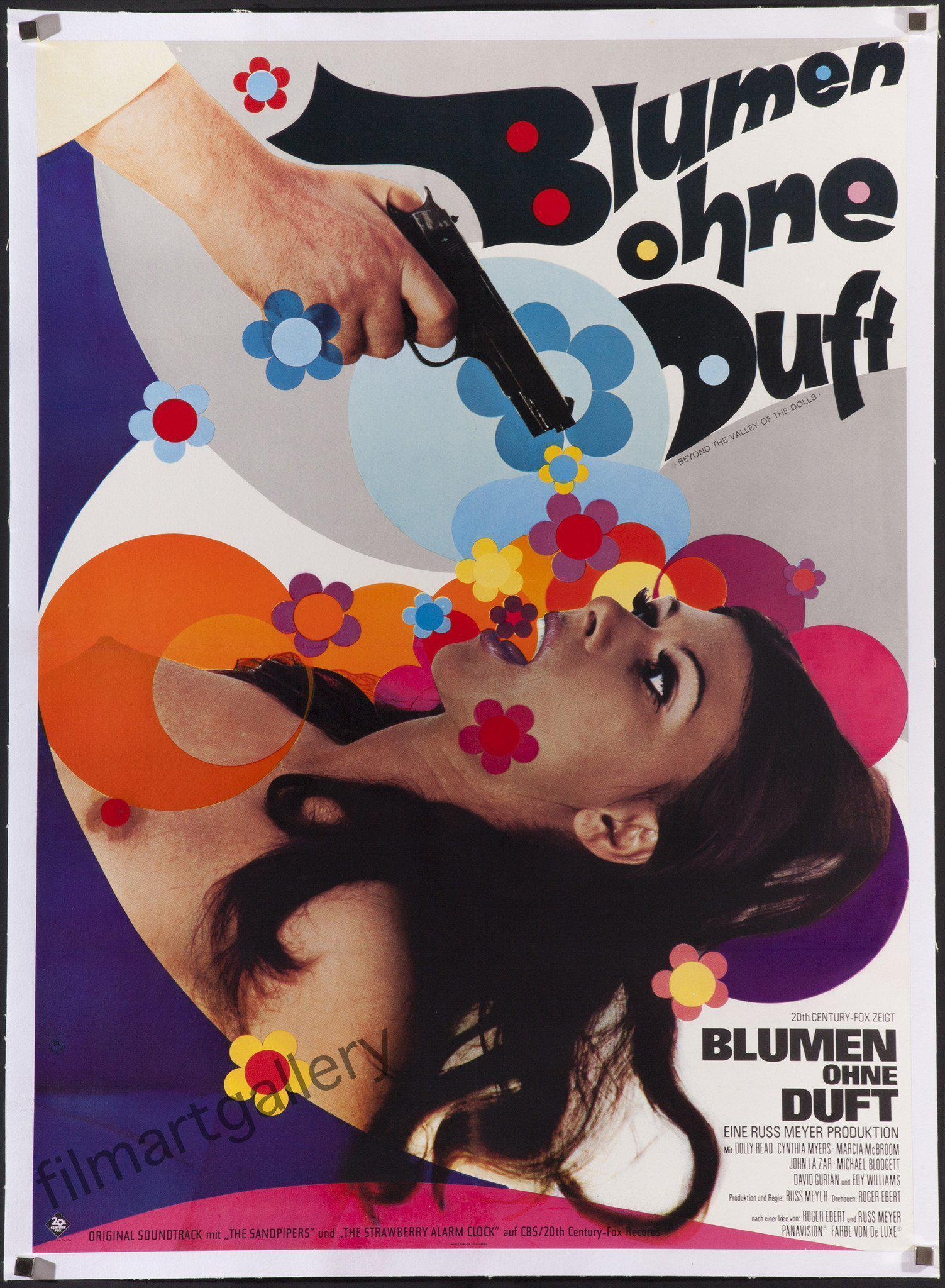Beyond the Valley of the Dolls (Blumen Ohne Duft) German A1 (23x33) Original Vintage Movie Poster