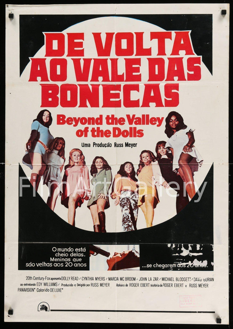 Beyond the Valley of the Dolls 1 Sheet (27x41) Original Vintage Movie Poster