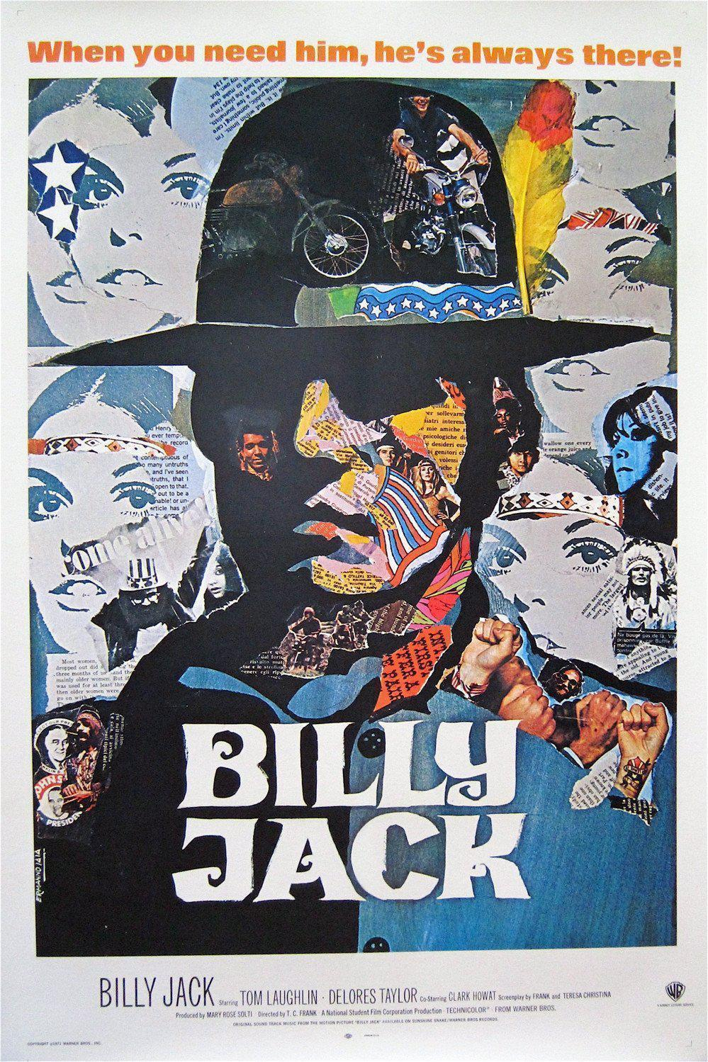 Billy Jack 1 Sheet (27x41) Original Vintage Movie Poster