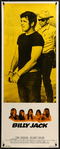 Billy Jack Insert (14x36) Original Vintage Movie Poster