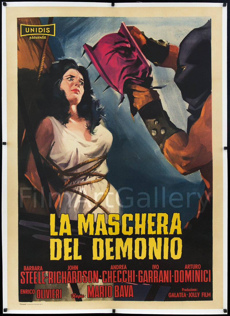Black Sunday (La Maschera Del Demonio) Italian 2 Foglio (39x55) Original Vintage Movie Poster