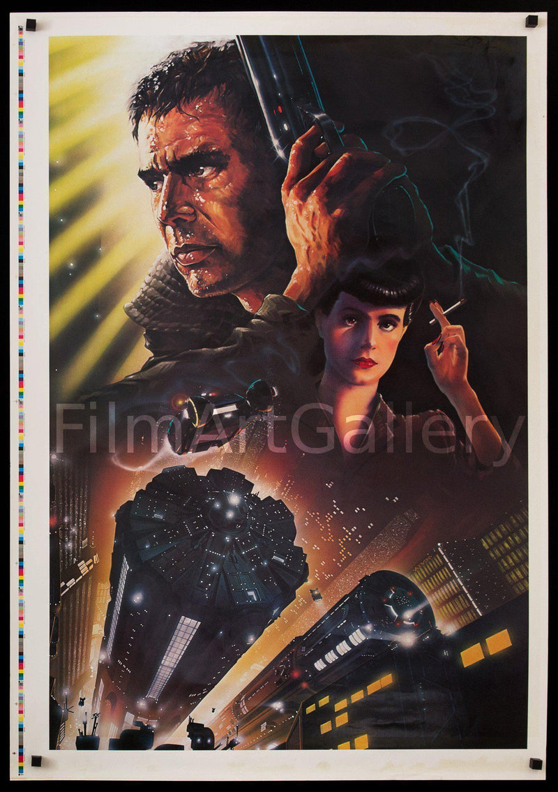 Blade Runner 28x41 Original Vintage Movie Poster